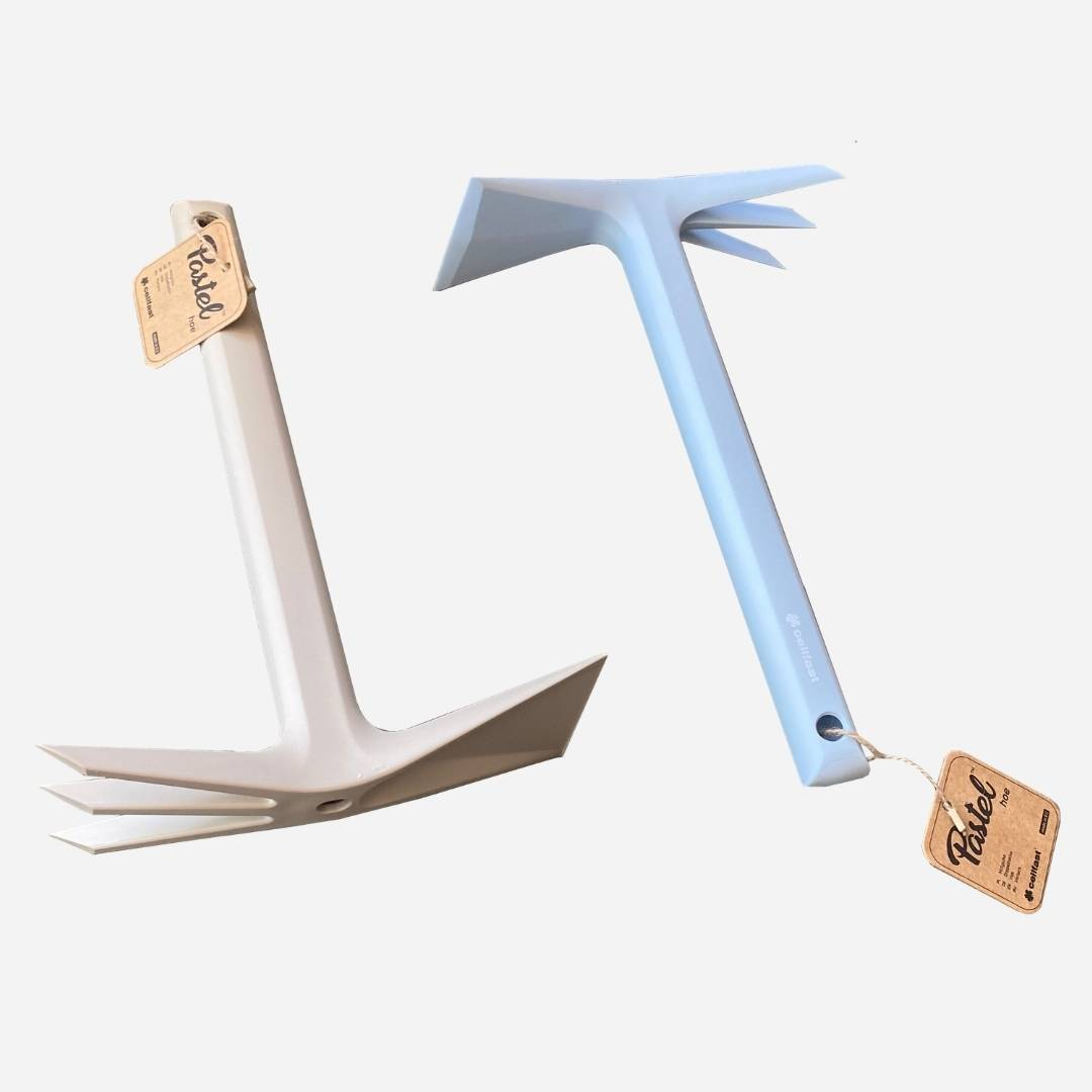 Quality Garden Supplies Tool - Cellfast | PASTEL™ Hoe Image Blue and Beige